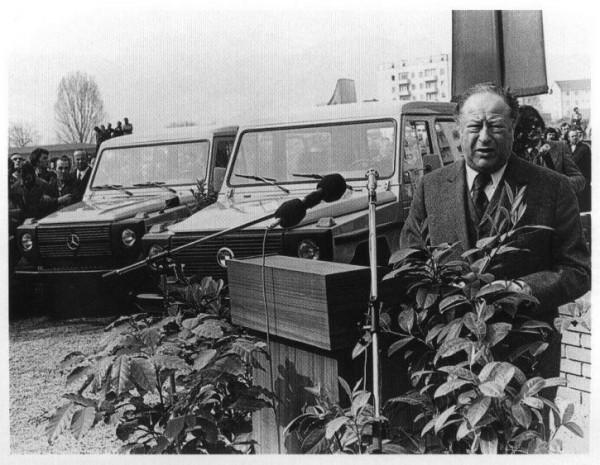 История создания автомобиля Гелендваген