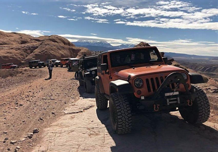 внедорожный фестиваль поклонников Jeep в штате Юта