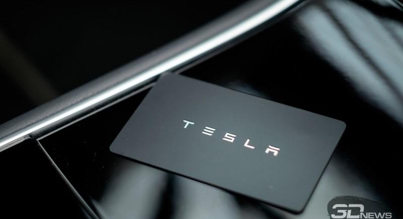 чип-карта от компании Tesla