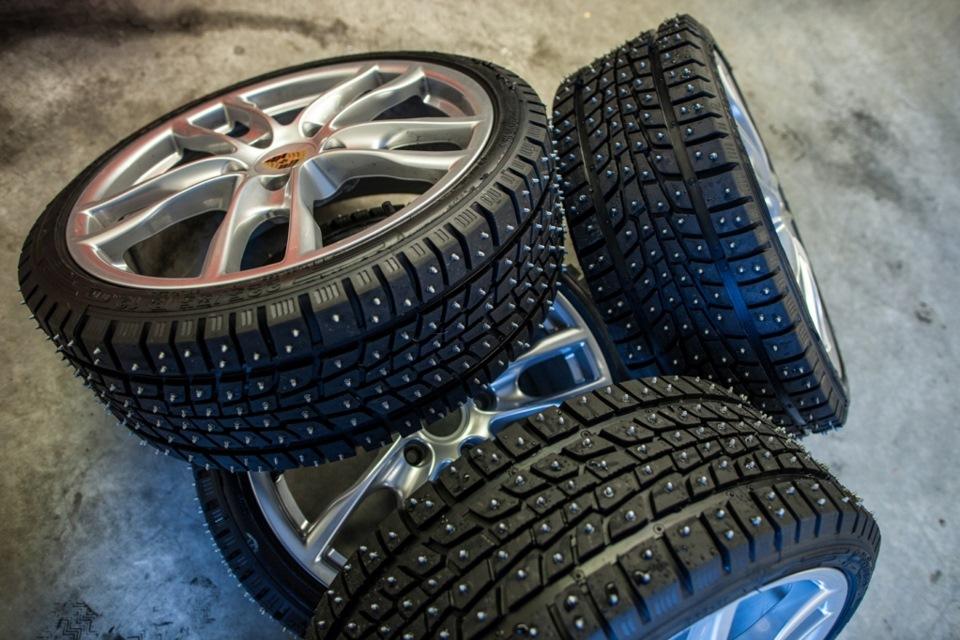 Устанавливаем зимние шины