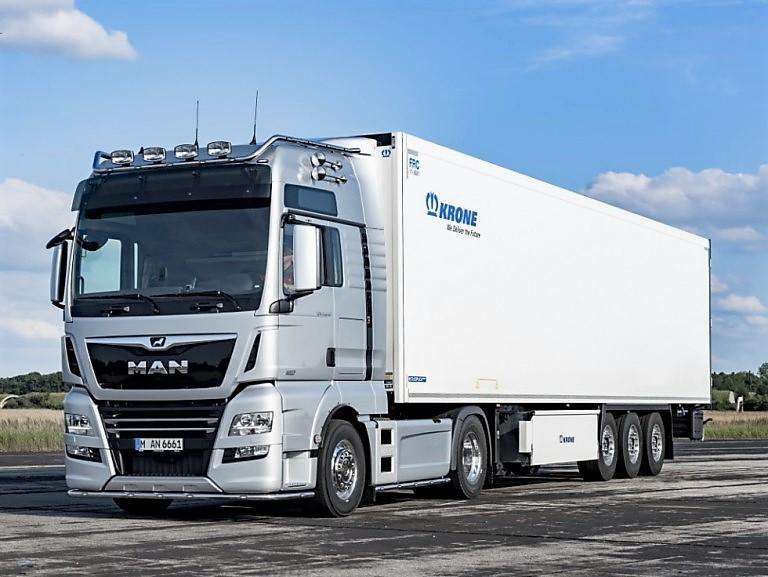 Достоинства грузовиков MAN
