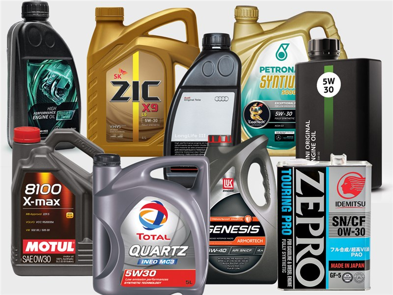 Выбор моторного масла для автомобиля