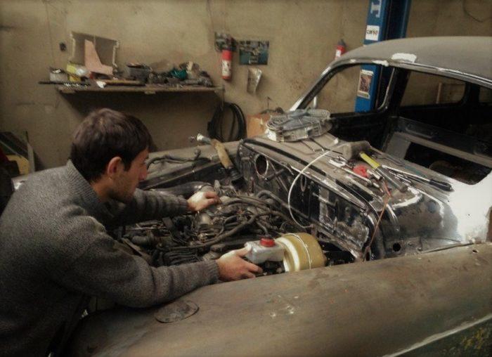 Как проходит реставрация автомобилей