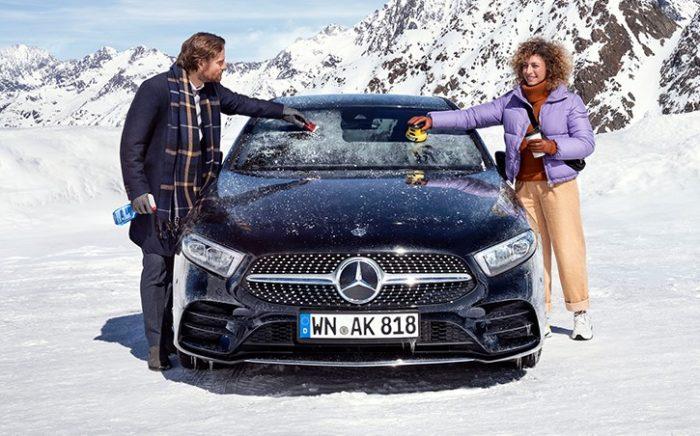 Особенности ухода за машиной в зимний период
